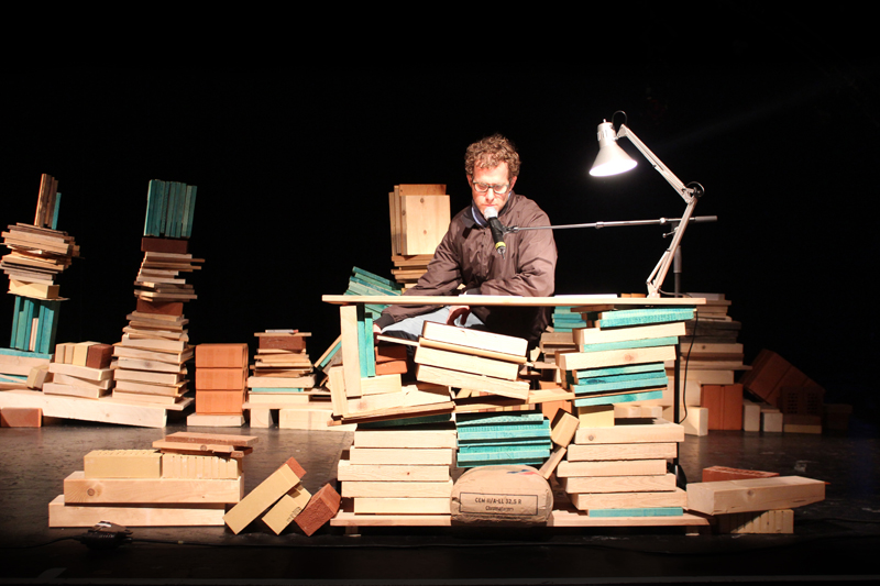 Event Design Set Across Germany The Diy Hornbach Hosted A Reading Tour Inviting Authors Their Storys On
